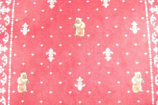 Baerenhotel: orso moquette