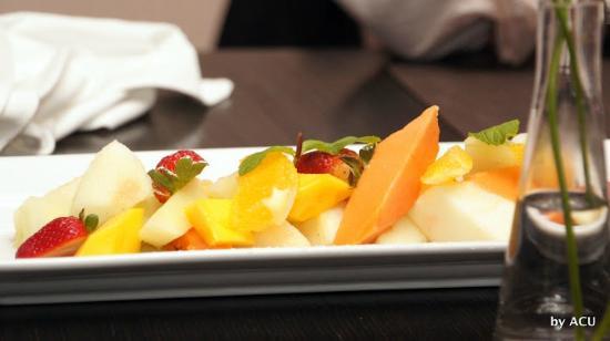 Chizza: Platito de frutas
