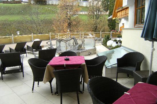 Baerenhotel: terrazza
