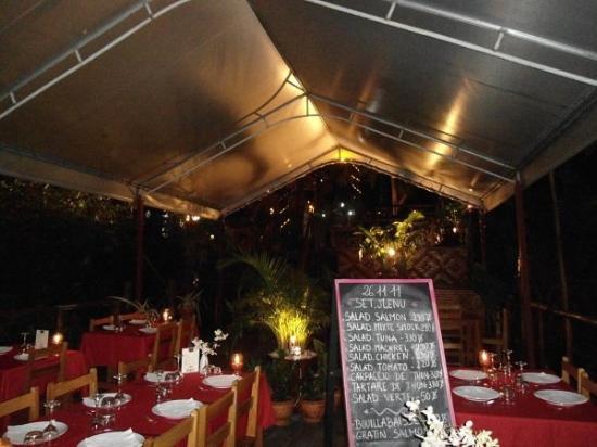 Baan pla Rawai Bouillabaisse : Le menu