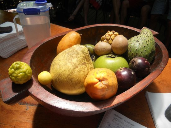 Cape Trib Exotic Fruit Farm:                                     Can YOU name any?  I couldn't!