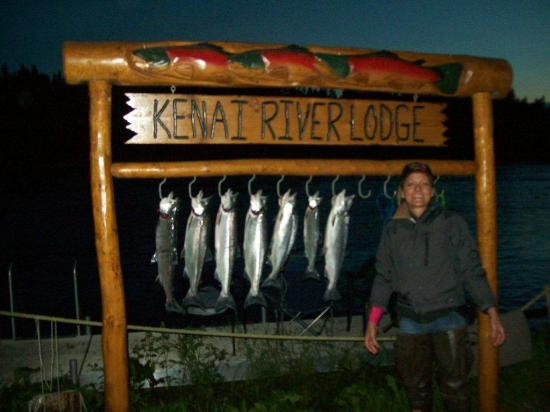 Kenai River Lodge: Late Night Fishing