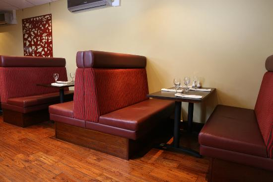 Nicky S Fish Bar Restaurant Booth Seating In
