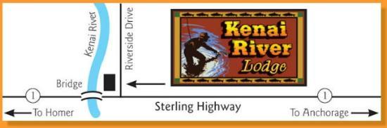Kenai River Lodge: Map