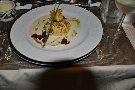 Hartstone Inn & Hideaway: First course