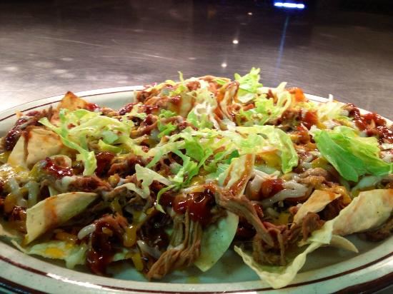 The Firehouse Restaurant : Pulled Pork Nachos