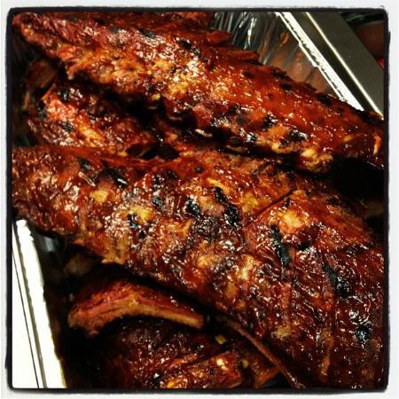 The Firehouse Restaurant : Hickory Smoked Baby-Back Ribs
