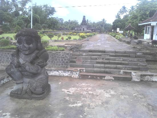 Penataran Temple: the entrance
