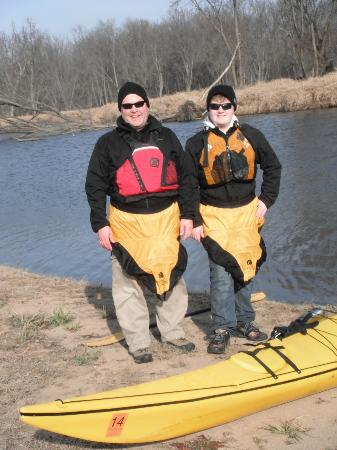 Turning Waters Bed, Breakfast and Adventure : Kayaking on the Mississippi