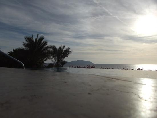 Grand Rotana Resort & Spa: view from the infinity pool....