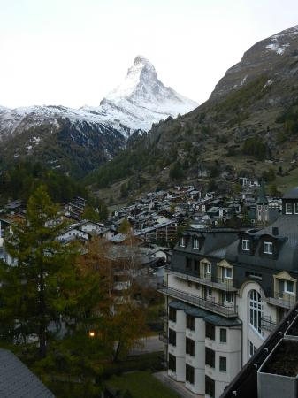 Hotel Bella Vista: View of Matterhorn from our balcony