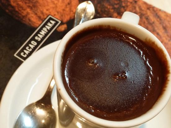 Cacao Sampaka: Da bleibt der Löffel drin stehen...