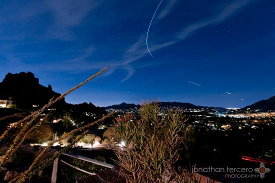 Sanctuary Camelback Mountain: A frame grab from a timelapse I was filming from outside Casa 8. Incredible Place!!!