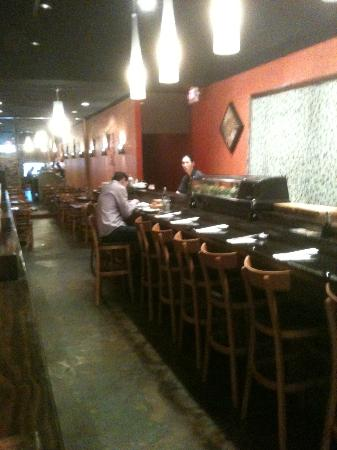 Great Wall Chinese & Shiro Sushi Bar: Sushi Bar