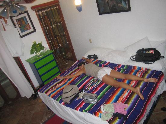 El Duende del Mar: Un letto enorme!