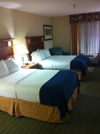 Holiday Inn Express Downtown Richmond: room 515