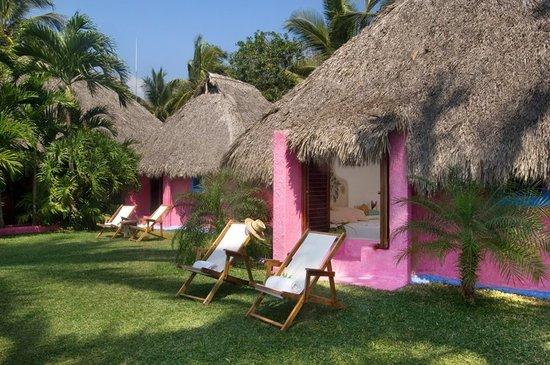 Costa Careyes: Bungalow Frente a la Playa