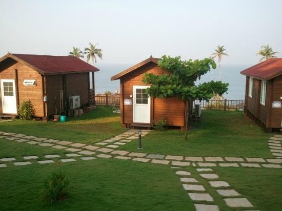 Ozran Heights Beach Resort: view from our cottage