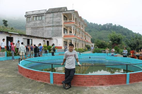 This is Hotel Outlook Inn, your Chandragiri hiking starts from this Hotel