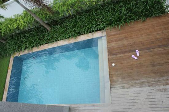 Two Villas Holiday Oriental Style Naiharn Beach: view from balcony