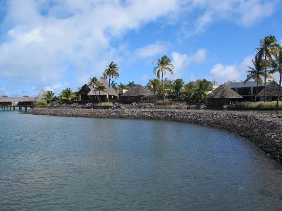 Four Seasons Resort Mauritius at Anahita: View of Resort from Water