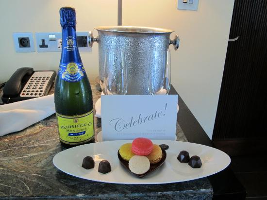 Four Seasons Resort Mauritius at Anahita: Welcome Gift