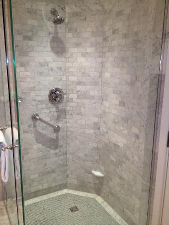 Mandarin Oriental, Washington DC: Nice shower with good water pressure.