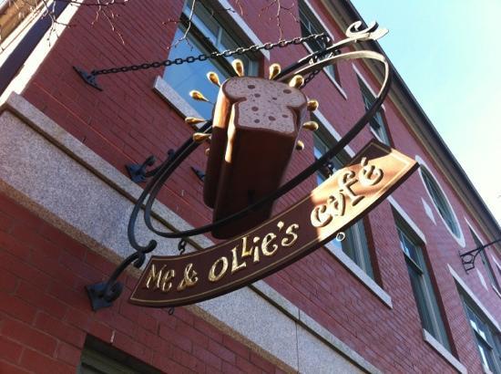 Me & Ollie's Cafe: loaf of bread