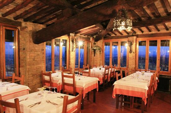Restaurant Le Terrazze, San Gimignano - Picture of Le Terrazze, San ...
