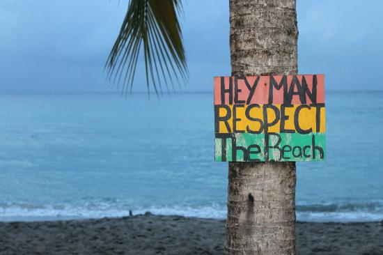Eat at Cane Bay: respect!