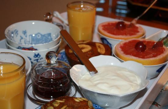 Montgomery Place: La colazione!