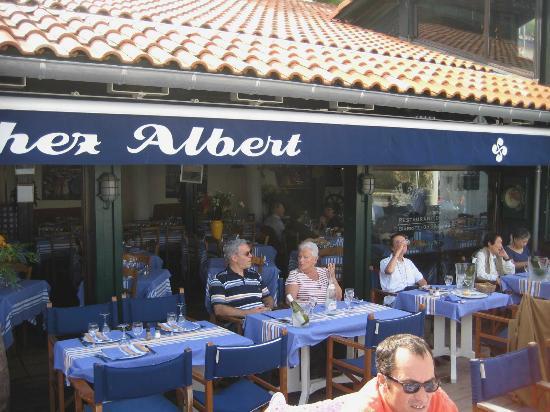 chez albert: vue du restaurant
