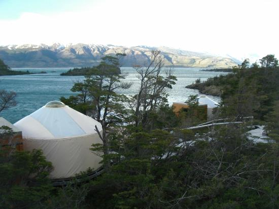Patagonia Camp: View From Deck of Yurt #10