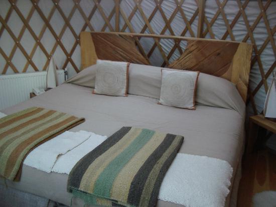 Patagonia Camp: Bed in Yurt