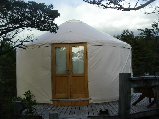 Patagonia Camp: Entrance to Yurt #10