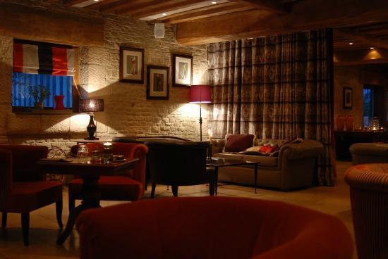 Les Manoirs de Tourgéville : l'un des salons