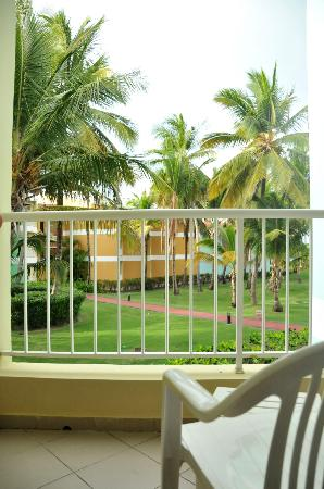 Grand Palladium Punta Cana Resort & Spa: balcony