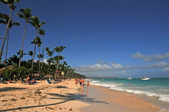 Grand Palladium Punta Cana Resort & Spa: beach