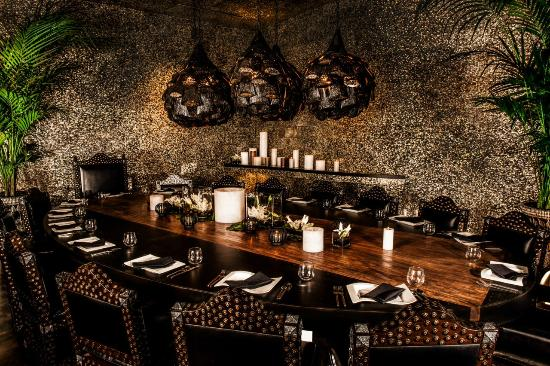 javiers marcos room private dining - Private Dining Rooms Las Vegas
