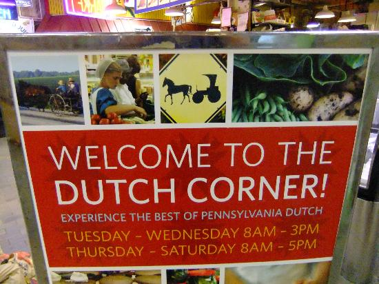 Duch corner picture of reading terminal market for Aashiyana indian cuisine reading pa