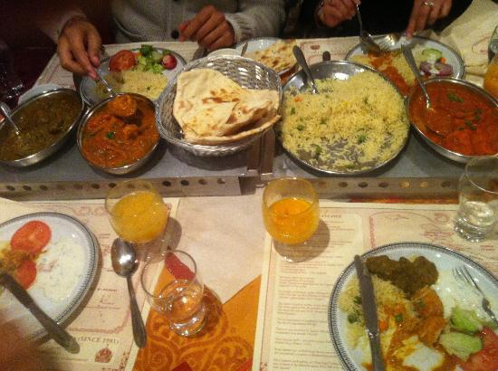 Indian cuisine manifested in the excellent Koh-i-Noor