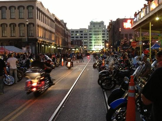 Lone Star Motorcycle Rally On The Strand