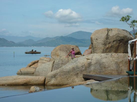 L'Alyana Ninh Van Bay: пляж