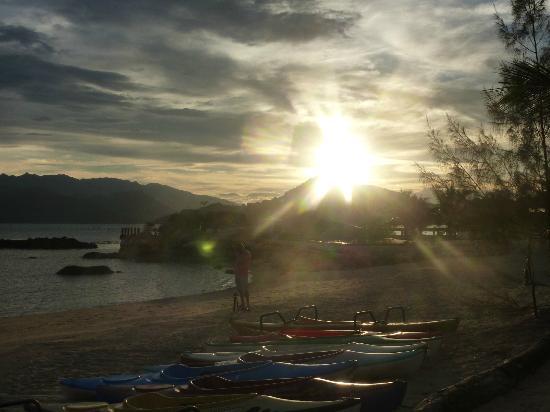 An Lam Ninh Van Bay Villas: закат