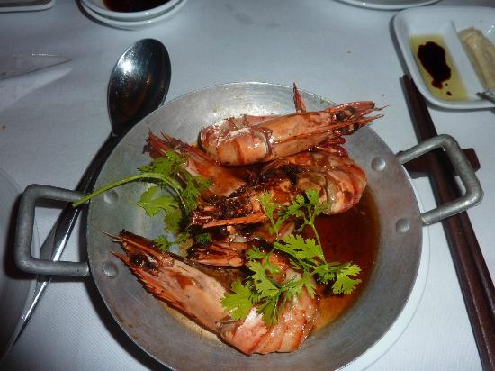 An Lam Ninh Van Bay Villas: ужин