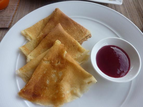 An Lam Ninh Van Bay Villas: завтрак