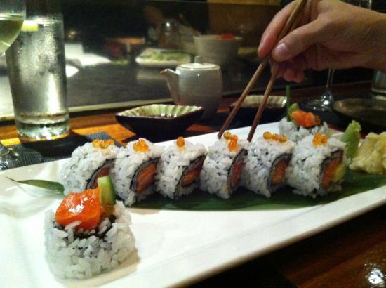 Busshari Japanese Restaurant: The Tasmanian roll