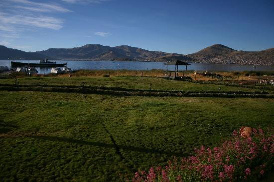 Sonesta Posadas del Inca Lake Titicaca Puno: vue de la chambre