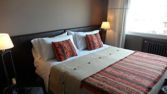 Quillen Hotel & Spa: Habitación pequeña pero acogedora