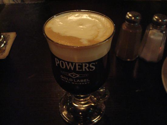 The Porterhouse Central: Irish coffee